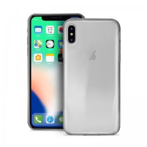 Puro Θήκη Σιλικόνης iPhone X / XS - Transparent