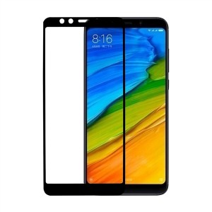 RedShield Tempered Glass - Fullface Αντιχαρακτικό Γυαλί Οθόνης Xiaomi Redmi 5 - Black