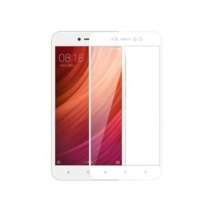 RedShield Tempered Glass - Fullface Αντιχαρακτικό Γυαλί Οθόνης Xiaomi Redmi Note 5A - White