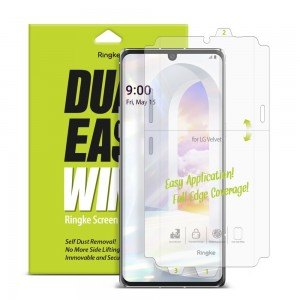 Ringke Invisible Defender Dual Easy Wing - Full Cover - Μεμβράνη Προστασίας Οθόνης - 2 Τεμάχια