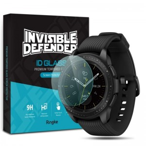 Ringke Invisible Defender ID Glass - Premium Αντιχαρακτικό Γυαλί Οθόνης Samsung Galaxy Watch 42mm