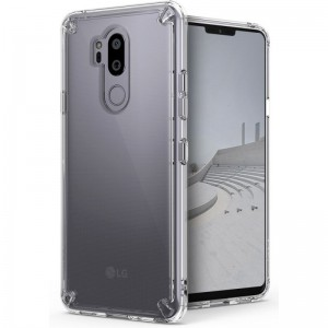 Ringke Fusion Θήκη με TPU Bumper LG G7 ThinQ - Clear