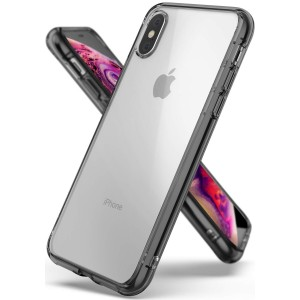 Ringke Fusion Θήκη με TPU Bumper iPhone Χ / XS - Smoke Black