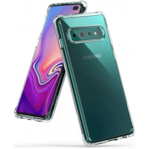 Ringke Fusion Θήκη με TPU Bumper Samsung Galaxy S10 Plus - Clear