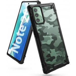 Ringke Fusion X Θήκη Σιλικόνης Samsung Galaxy Note 20 - Camo Black