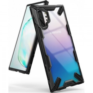 Ringke Fusion-X Θήκη Samsung Galaxy Note 10 Plus - Black / Transparent