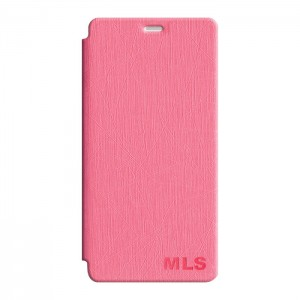 "Smart Leather Θήκη MLS Diamond 4G (5"") Pink"