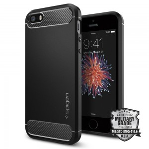 Spigen Θήκη Rugged Armor iPhone 5/5S/SE
