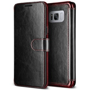 VRS Design Dandy Layered Θήκη - Πορτοφόλι Samsung Galaxy S8 Plus - Black