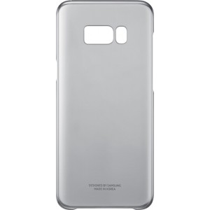 Samsung Official Ημιδιάφανη Σκληρή Θήκη Clear Cover Galaxy S8 Plus - Black