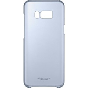 Samsung Official Ημιδιάφανη Σκληρή Θήκη Clear Cover Galaxy S8 Plus - Blue
