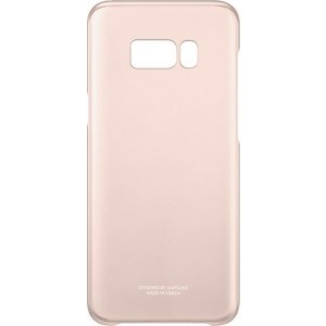 Samsung Official Ημιδιάφανη Σκληρή Θήκη Clear Cover Galaxy S8 Plus - Pink