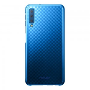 Samsung Official Ultra-Thin and Light Gradation Cover - Σκληρή Θήκη PC για Samsung Galaxy A7 2018 - Gradient Blue