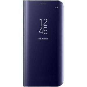 Samsung Official Clear View Standing Cover - Θήκη Flip με Ενεργό Πορτάκι Samsung Galaxy S8 - Violet