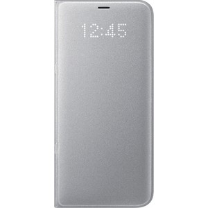 Official Samsung LED View Cover Galaxy S8 Plus - Silver