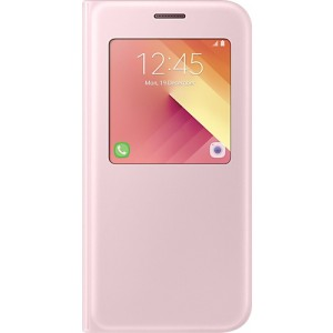 Official S-View Standing Cover Θήκη Samsung Galaxy A5 2017 - Pink