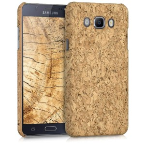 KW Σκληρή Θήκη Samsung Galaxy J7 (2016) - Light Brown Cork