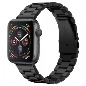 Spigen Modern Fit Μεταλλικό Λουράκι Apple Watch 4/3/2/1 - 44/42mm - Black