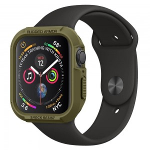 Spigen Θήκη Tough Rugged Armor Apple Watch Series 4 (44mm) - Olive Green