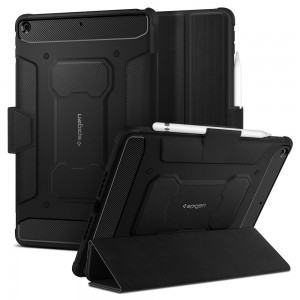 "Spigen Θήκη Rugged Armor Pro iPad 7 / 8 / 10.2"" 2019 / 2020  - Black"