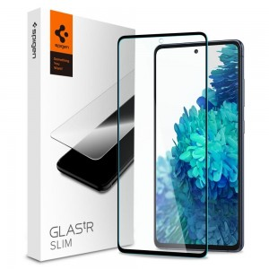 Spigen Tempered Glass GLAS.tR Slim HD - Fullface Αντιχαρακτικό Γυαλί Οθόνης Samsung Galaxy S20 FE - Black