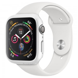 Spigen Θήκη Thin Fit Apple Watch 5/4 (44mm) - White