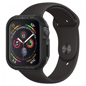 Spigen Θήκη Rugged Armor Apple Watch 4 (44mm) - Black