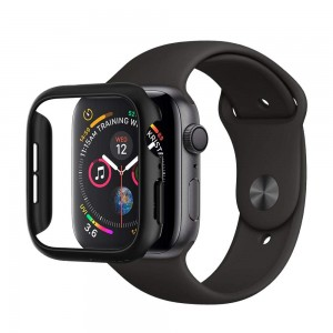 Spigen Θήκη Thin Fit Apple Watch 4 44mm - Black