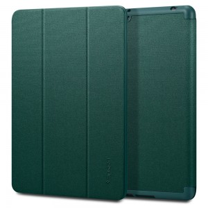 "Spigen Urban Fit Σκληρή Θήκη Apple iPad 7 / 8 / 10.2"" 2019 / 2020  - Midnight Green"