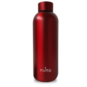 Puro Hot Cold Paint Bottle 500ml - Red