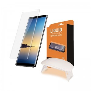 T-MAX Liquid Full Glue 3D Tempered Glass - Σύστημα προστασίας οθόνης Samsung Galaxy Note 8