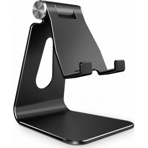 "Tech-Protect Z4A Universal Stand Holder - Βάση Αλουμινίου για Smartphone / Tablet 4""-8"" - Black"