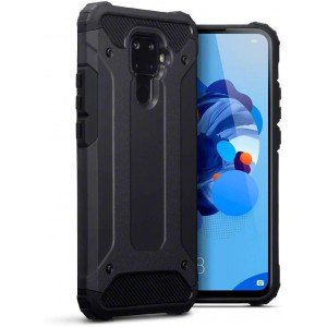 Terrapin Ανθεκτική Θήκη Double Layer Impact Huawei Mate 30 Lite - Black
