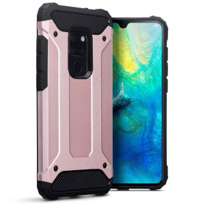 Terrapin Ανθεκτική Θήκη Double Layer Impact Huawei Mate 20 - Rosegold