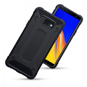 Terrapin Ανθεκτική Θήκη Double Layer Impact Samsung Galaxy J4 Plus 2018 - Black