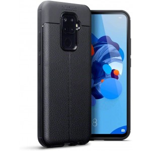 Terrapin Θήκη TPU Leather Design Huawei Mate 30 Lite - Black