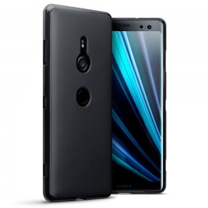 Terrapin Θήκη Σιλικόνης Sony Xperia XZ3 - Solid Black Matte Finish