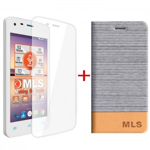 Silver Flip Case MLS Color Mini 4G