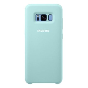 Samsung Official Silicon Cover - Θήκη Σιλικόνης Samsung Galaxy S8 Plus - Blue