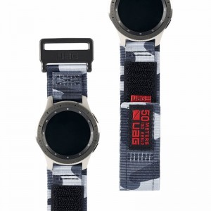 Υφασμάτινο Λουράκι UAG Samsung Galaxy Watch 46mm - Midnight Camo
