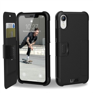 UAG Θήκη Πορτοφόλι Metropolis Feather-Light Rugged iPhone XR - Black