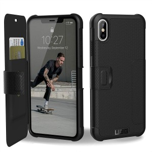 UAG Θήκη Πορτοφόλι Metropolis Feather-Light Rugged iPhone XS Max - Black