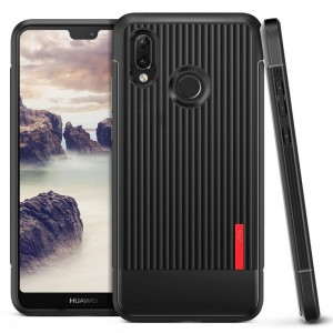VRS Design Θήκη Single Fit Label Huawei P20 Lite - Black