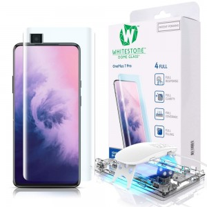 Whitestone Dome Glass - Liquid Optical Clear Adhesive & Installation Kit - Σύστημα προστασίας οθόνης OnePlus 7 Pro