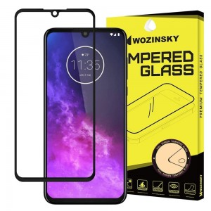 Wozinsky Tempered Glass - Fullface Αντιχαρακτικό Γυαλί Οθόνης Motorola One Zoom - Black