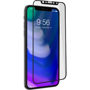 Zagg Invisible Shield Glass+ Contour iPhone X/XS - Black