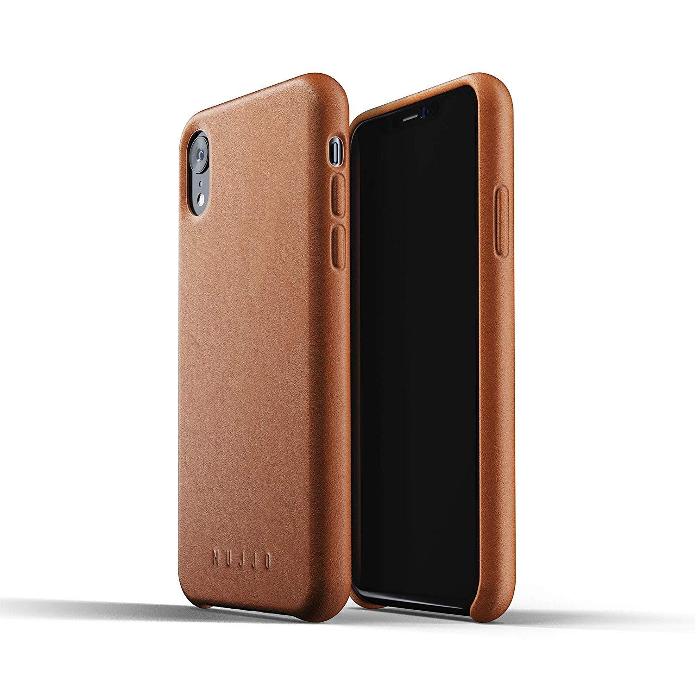 MUJJO Full Leather Case - Δερμάτινη Θήκη iPhone XR - Tan (MUJJO-CS-105-TN)