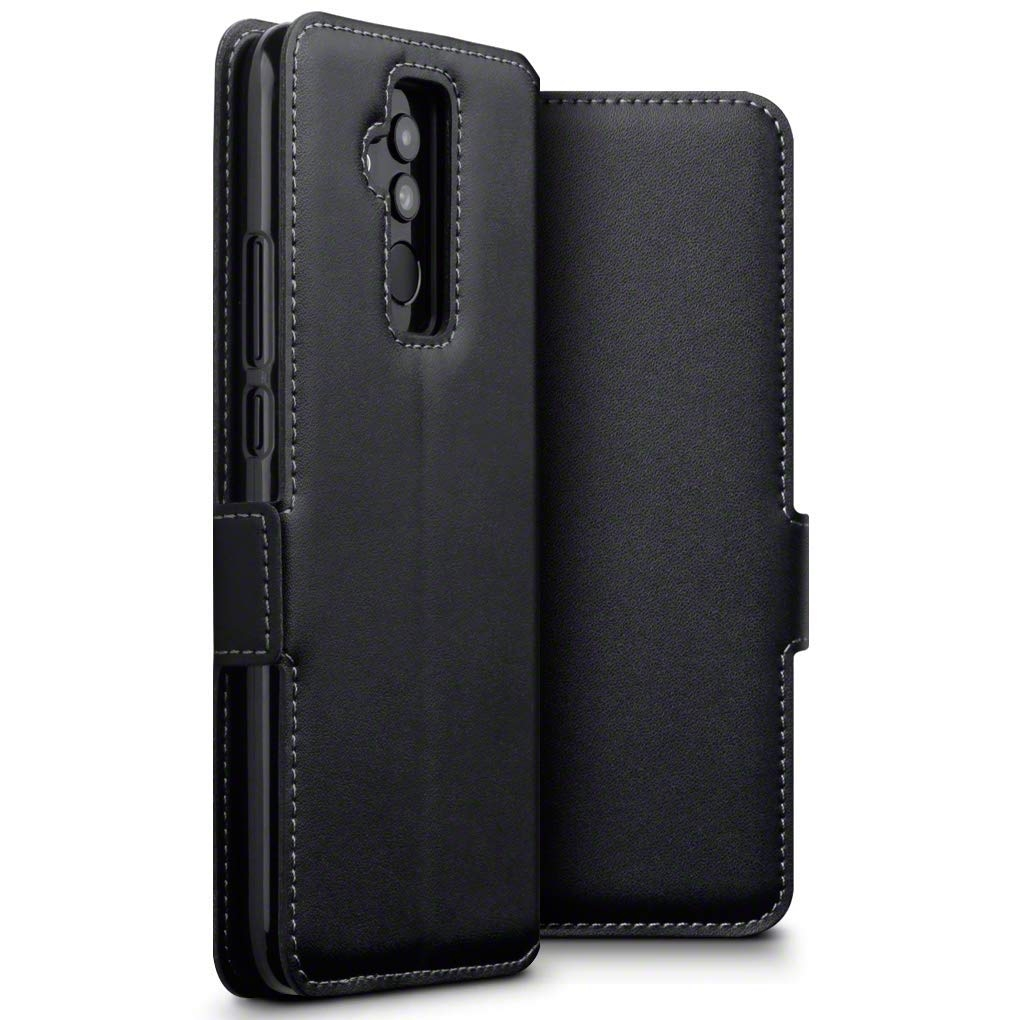 Terrapin Low Profile Δερμάτινη Θήκη - Πορτοφόλι Nokia 5.1 Plus - Black (117-001-311)