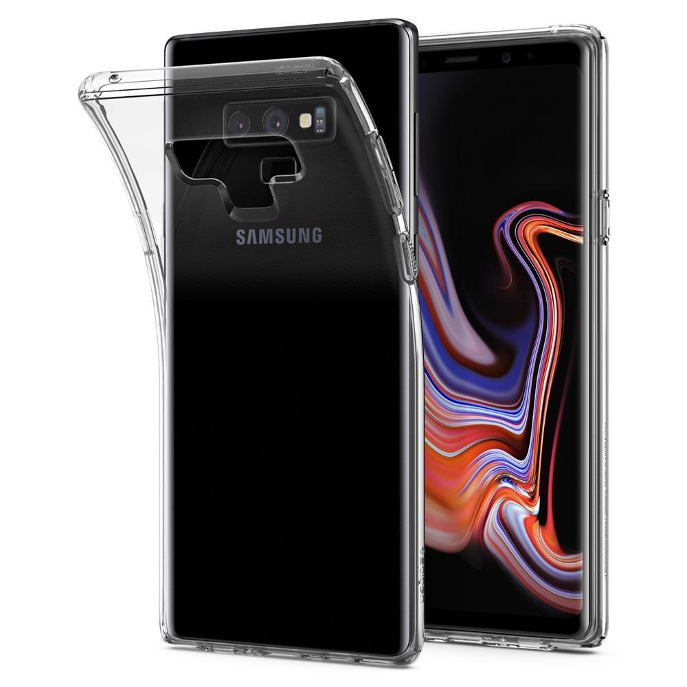 RedShield Διάφανη Θήκη Σιλικόνης & Black Full Face Tempered Glass Samsung Galaxy Note 9 (RSHIGELLY56GLASS3D)