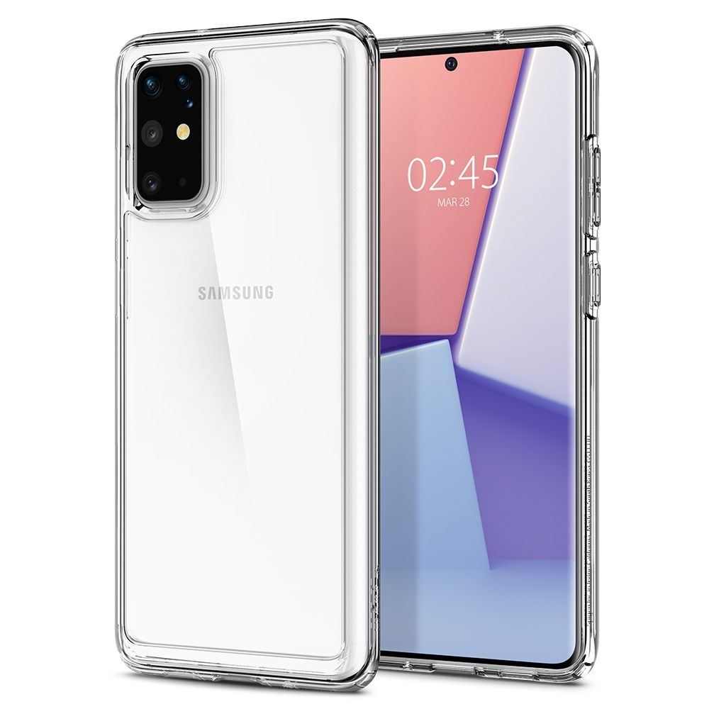 Spigen Θήκη Ultra Hybrid Samsung Galaxy S20 Plus - Crystal Clear (ACS00755)